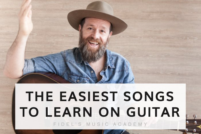 Read more about the article The 6 Easiest Songs to Learn on the Guitar