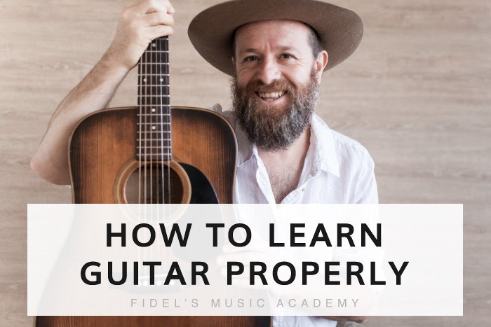 How To Learn Guitar Properly So You Don't Quit In A Week