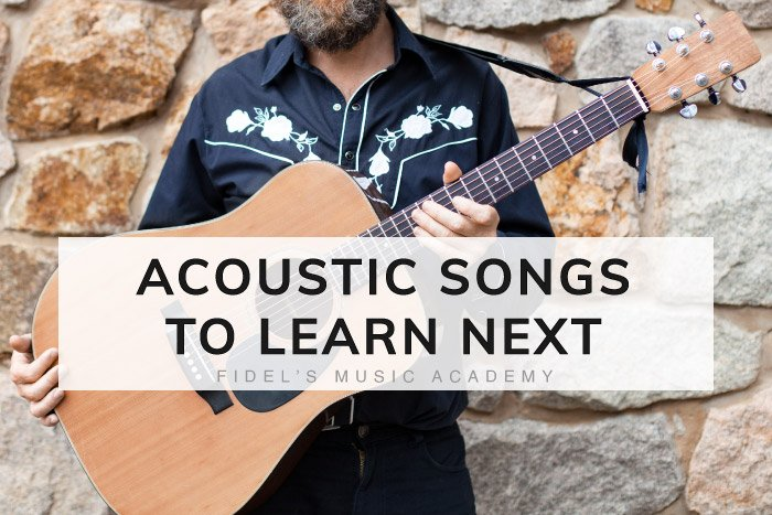 Acoustic Guitar Songs To Learn Next