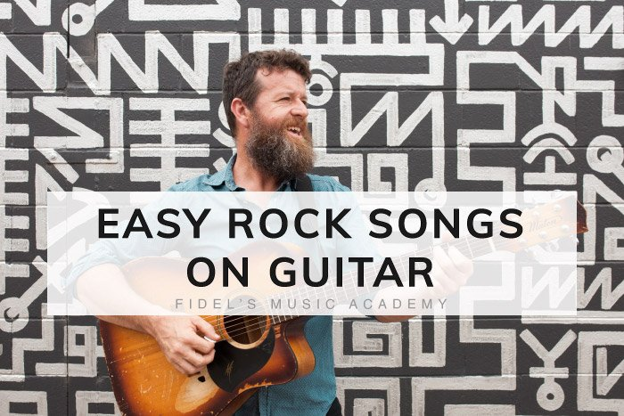 Easy Rock Songs On Guitar
