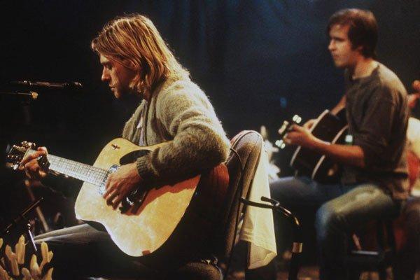 Nirvana guitar Something In The Way